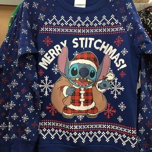 New merry stitchmas Christmas Sweatshirt S-XXL